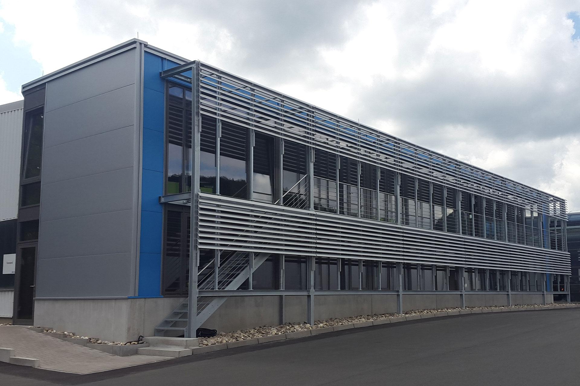 Projekte im Stahlbau